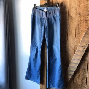 Thyme maternity jeans. Boot cut